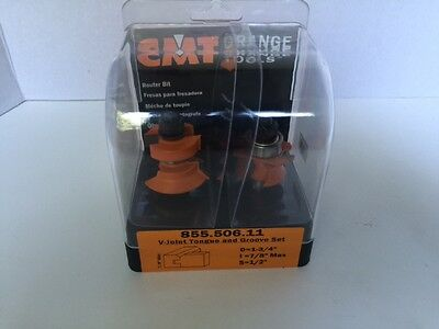*NEW* CMT 855.506.11 V-Joint Tongue & Groove Set