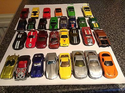 Joblot Of Hot Wheel American Muscle  Cars   X 30  Scale 1.64