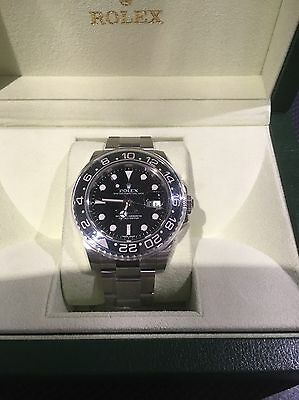 Rolex GMT Master 11 Oyster Perpetual - With Box And Card