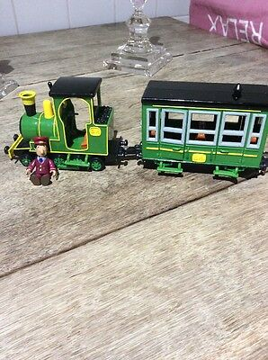 Postman Pat CBeebies SDS Greendale Rocket Green Train With Ajay