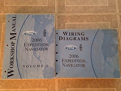 2006 Ford/Lincoln Expedition/navigator Work BOOKS SERVICE SHOP REPAIR MANUAL