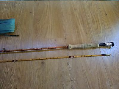 Vintage Lt. Col. Oborn , Hand Built Cane Fly Fishing Rod.
