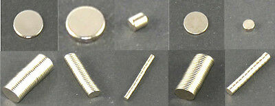 Neodymium Magnets Size Number of pieces selectable N35 N50 Magnet New
