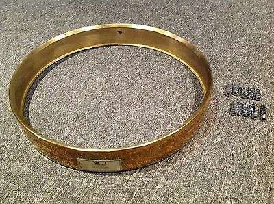 """Pearl 14' x 3.5"""" Brass Piccolo Snare drum Free floating shell with lugs"""