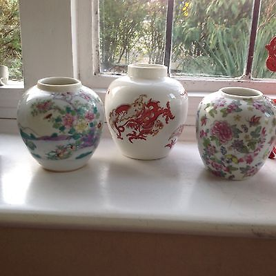 Small Collection of Ginger Jars