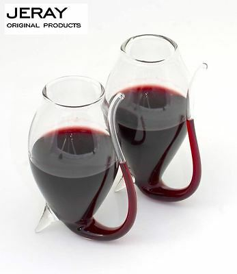 Jeray Vinology Set of 2 Brandy Port Sipping Sipper Glasses