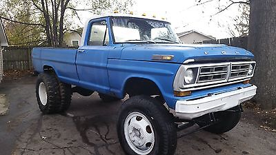 1972 Ford Other Pickups white 1972 Ford F600