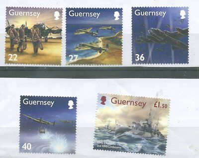 timbres neufs Guernesey YT 965 à 968**