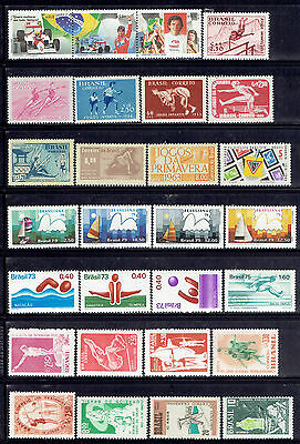 Brazil, Sport, Mnh Stamps, Very Nice Lot, See Scans