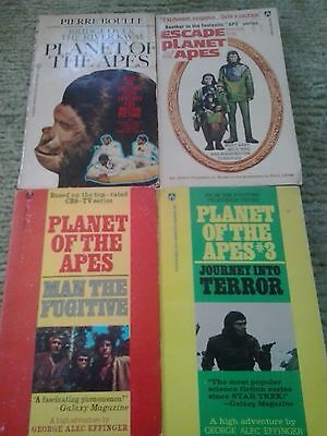 Escape From & Planet Of The Apes/man The Fugitive/journey Into Terror