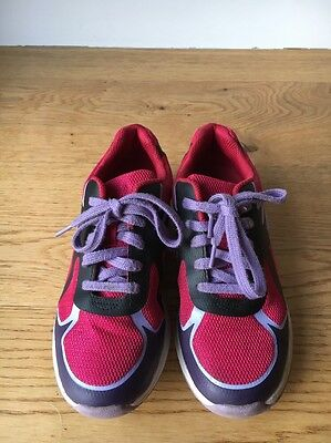 Girls Clarks Trainers Size 2 F