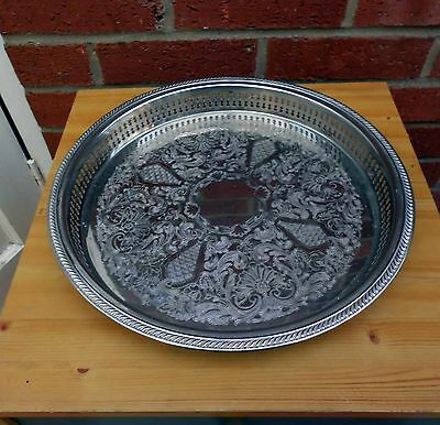 Round Gallery drinks tray