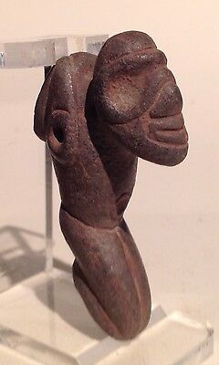 Taino Stone Anthropic Pendant, preColumbian