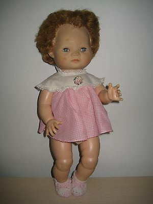 """ADORABLE 1958 16"""" American Character Doll Baby Toodles? Eyes Open Shut Jointed"""