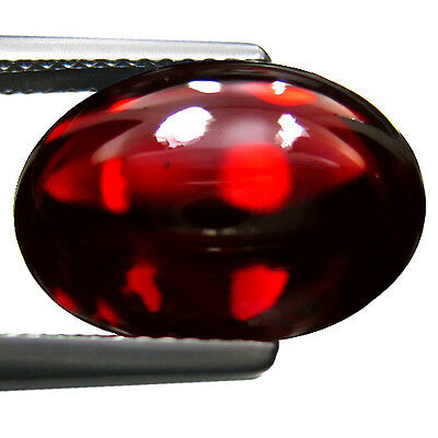 13.87 Cts Extraordinary Natural Garnet Cabochon From Africa Loose Gemstone