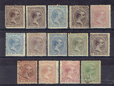 Philippines, Old Used Stamps Lot - 1