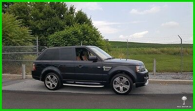 2012 Land Rover Range Rover Sport Supercharged Autobiography 2012 Land Rover Range Rover Sport Supercharged Autobiography 49,240 miles