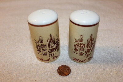 Collectible Souvenir Salt and Pepper Shakers from Moab Utah