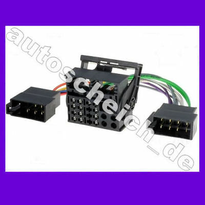 Adaptador Quadlock cable ISO para BMW VW Mercedes Audi Opel Ford Navi De Radio