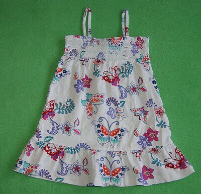 GAP summer dress with butterflys for a girl 2 years  Gr. 84-91 cm BNWT