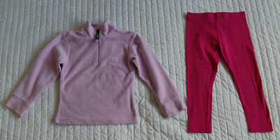 Next is leggings and Trespass is fleece for a girl 3-4 years Gr. 98 - 104 cm