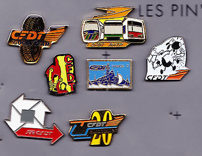 Pin's Syndicats CFDT