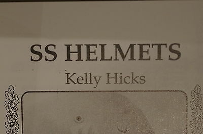 WW2 German SS Helmets A Collector's Guide Reference Book