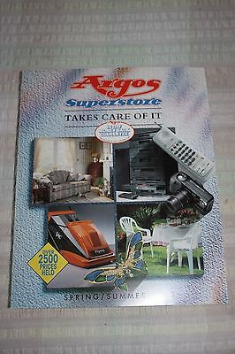 Argos Superstore Spring / Summer 1993 Catalogue