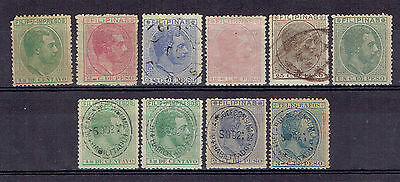 Philippines, Old Used Stamps Lot - 2