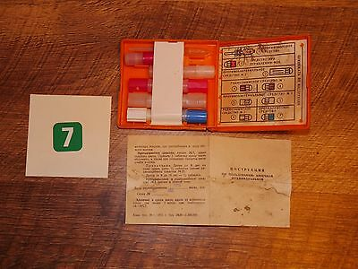Authentic Soviet USSR Cold War Nuclear Attack Civil Defence First Aid Kit #7