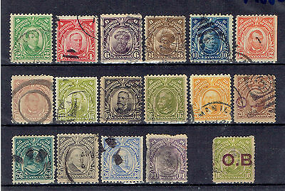 Usa - Philippines, Old Used Stamps Lot - 4