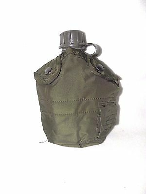 Canteen 1 Quart And Cover US Military Style Plastic Lightweight Olive Drab New