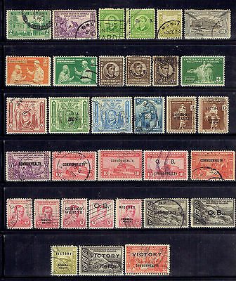 Usa - Philippines, Old Used Stamps Lot - 6