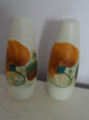 Radford Salt & Pepper Pots With Stoppers  Vgc
