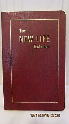 THE NEW LIFE TESTAMENT Red translated by Gleason H. Ledyard 1976 Christian Lit I