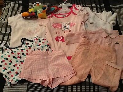 Baby Girl Bundle 9-12 months 9 items