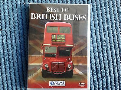 Atlas Editions Best Of British Buses DVD 2009 still sealed unplayed mint