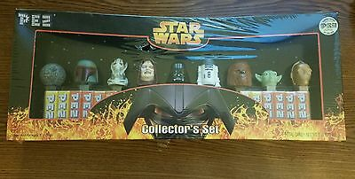 2 Star Wars Collectible Items - Limited Edition Pez Dispensers 3-D Playing Cards
