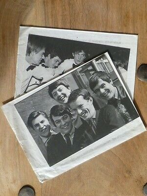 Collectable Cards 'The Animals' and 'The Dave Clark Five' 1964/5 British Groups