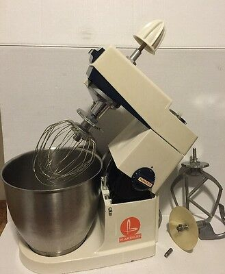 Blakeslee A717 Commercial Mixer with 5-7 Quart Bowl + ATTACHMENTS! SEE PHOTOS!!