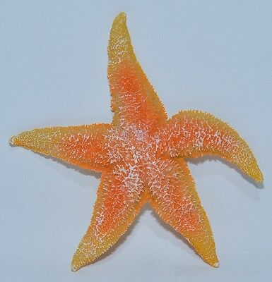 STARFISH Aquarium ornament, fish tank, decoration Aqua Della Orange