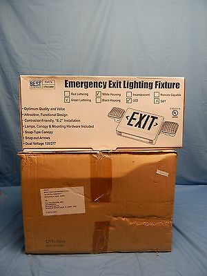 6 NEW Best Lighting Product CXTEU2GWSDT LED Emergency Exit Signs Green Lettering