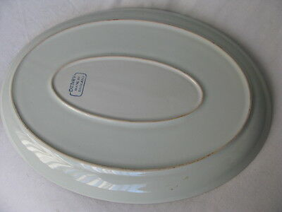 Denby Pottery Oval Plate.  Unboxed & used but GC