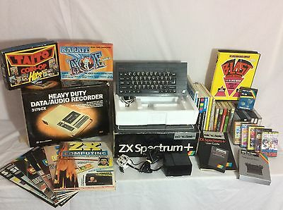 Sinclair ZX Spectrum plus Computer with Software ~ Tested and working