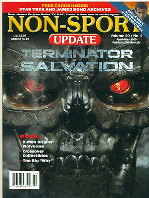 Non Sport Update-Terminator Salvation Cover+Doctor Who+Benchwarmer+X-Men-No Card