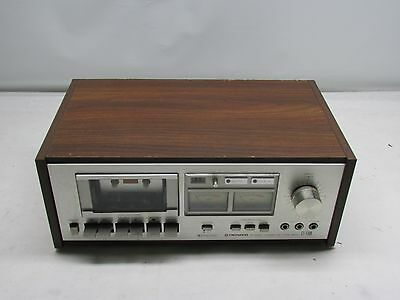 Vintage Silver Face Pioneer CT-F500 Stereo Cassette Deck