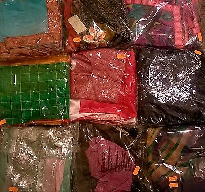 Designer sarees with matching blouse sell for Diwali & Navratri for 4-6 yrs girl