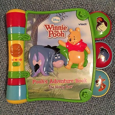 Winnie The Pooh Talking Book By Vtech