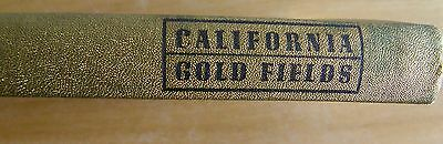 1948 California Gold Fields Calif Centennial Ed 750 Only This Is #14 By Ferguson