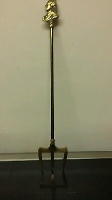 Toasting fork brass